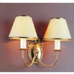 Eden Polished Brass Wall Light SMBB00082B/PB