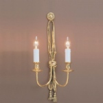 Richmond Solid Brass Double Wall Light SMBB00012B/PB