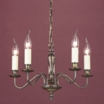 Georgian Bronze Multi Arm Light SMBB00055/LBRZ