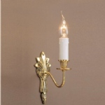 Goodwood Brass Single Wall Light SMBB00151A/PB