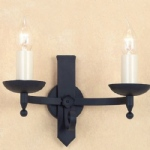 Forge Wall Light SMRR00192/MBLK