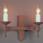 Saxon Double Wall Light SMRR01072/A