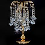 Shower Gold Colour Table Lamp with Crystal Ball Drops ST01800/TL/G