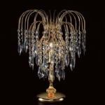 Shower large Gold Colour Crystal Table Lamp ST01900/TL/G