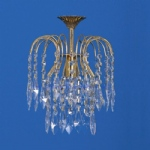 Shower Gold Plated Crystal Light ST02000/20/01/G