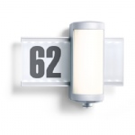 House Number Sign PIR Wall Light L 625 LED