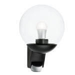 L585 S Black Outdoor PIR Light