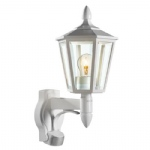 L15 White Traditional PIR Wall Light