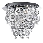 0573-3cc Nova Flush Ceiling Light