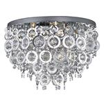 Nova Semi-Flush Chrome Ceiling Light 0575-5cc