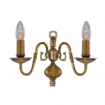 1019-2AB Flemish Classical Wall Light
