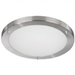 Circular Shaped IP44 Flush Ceiling Light 10633SS