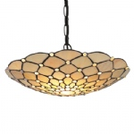1468CLCW Raindrop Tiffany Pendant Light