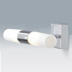 1609CC Twin Light Bathroom Wall Light