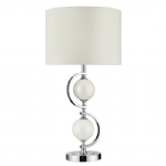 1965WH Polished Chrome Table Lamp