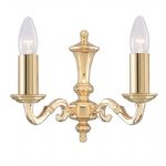 Seville Traditional Wall Light 2172-2NG