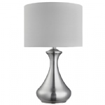 2750SS Satin Silver Touch Table Lamp