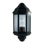 280BK Black Outdoor Wall Light