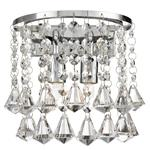 Hanna Crystal and Chrome Wall Light 3302-2CC