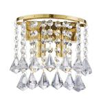 Hanna Crystal Wall Light 3302-2GO