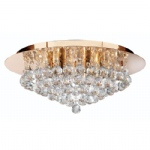 3406-6GO Hanna Crystal Gold Coloured Light
