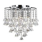 Dorchester Four Light Crystal Ceiling Fitting