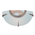36097AM Frosted Glass Wall Light