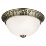 4148-28AB Small Flush Ceiling Light