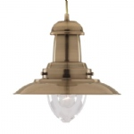 4301-AB Fisherman Pendant Light