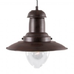 Fisherman Rustic Brown Ceiling Pendant 4301RU