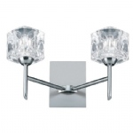 4342 2 Cubo Double Wall Light