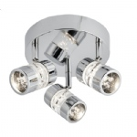 4413CC Bubbles LED Triple spotlight