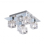 4476-5 Ice Cube Modern Flush Light