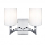 4992-2CC Gina 2 Light Wall Light