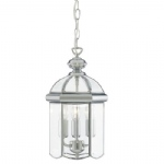 5133CC Chrome Lantern Pendant Light