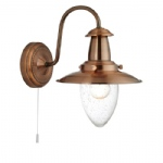 Fisherman Copper Wall Light 5331-1CU