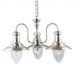 Fisherman 3 Arm Pendant Light 5333-3SS