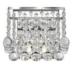 Hanna Chrome and Crystal Wall Light 5402-2CC