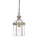 Antique Brass Lantern Pendant 7131AB