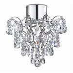7901-1CC Crystal Bathroom Ceiling Light