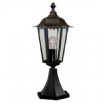 Alex Outdoor Post Light 82503BK