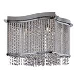 Elise Chrome Crystal Light Fitting 8323-3CC