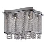 Elise Chrome Crystal Ceiling Light 8324-4CC