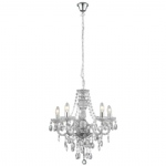 Five Arm Marie Therese Ceiling Light 8885 5