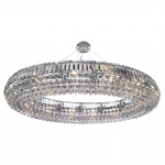9190CC Vesuvius Crystal Pendant Light