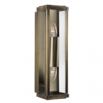 9204AB Outdoor Double Wall Light
