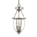 9501-3AB Antique Brass Lantern