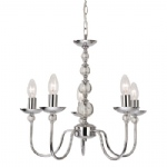 6127CH Galaxy Chrome Ceiling Light