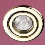 MM6272 Polished Brass Recessed Downlight