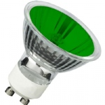 GU10 Green Halogen 35Watt Pack of 10
